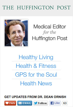 Dr Dean Ornish on the Huffington Post