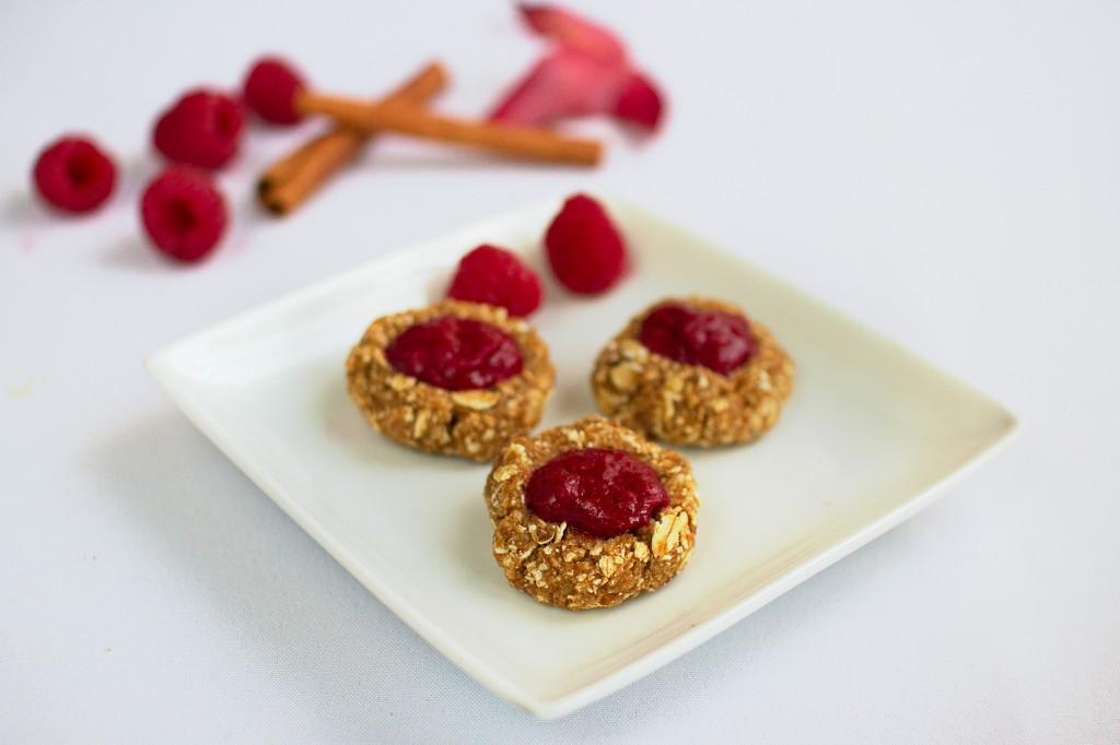 Rasberry cookies